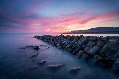 A View of Kimmeridge Bay in Dorset-Chris Button-Photographic Print