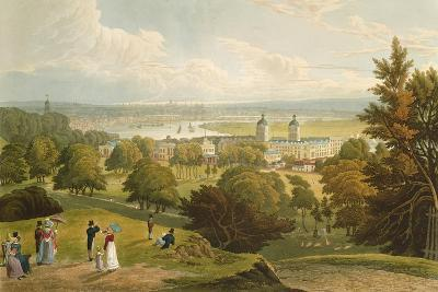 A View of London Taken from Greenwich Park, Pub. 1820 by Colnaghi and Co.--Giclee Print
