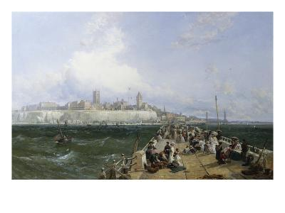 A View of Margate from the Pier-James Webb-Giclee Print