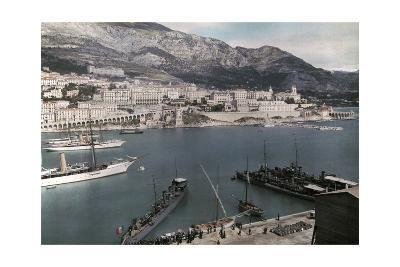 A View of Monte Carlo from the Rock of Monaco-Hans Hildenbrand-Photographic Print