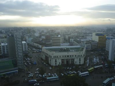 A View of Nairobi is Shown from the Hilton Hotel-Stephen Alvarez-Photographic Print