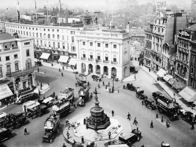 A View of Piccadilly Circus, C1912-C1914