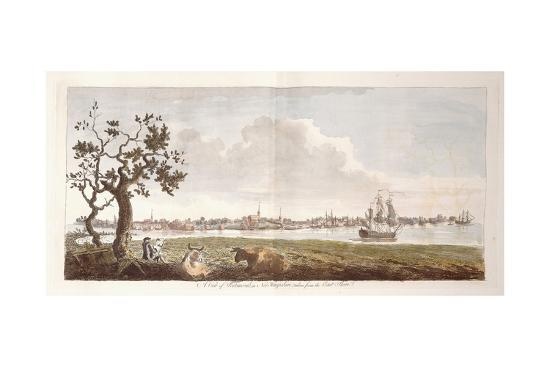 A View of Portsmouth, in New Hampshire, Taken from the East Shore, 1774-1779--Giclee Print
