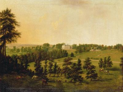 A View of Tapeley Park, Instow, North Devon-Willibrord Joseph Mahler or Maehler-Giclee Print