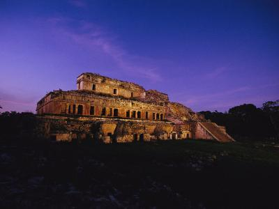 A View of the Ancient Mayan Ruins of Uxmal-Kenneth Garrett-Photographic Print