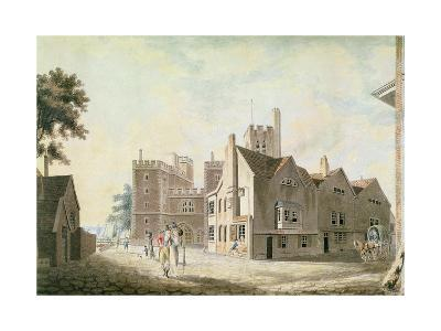 A View of the Archbishop's Palace, Lambeth, 1790-J^ M^ W^ Turner-Giclee Print