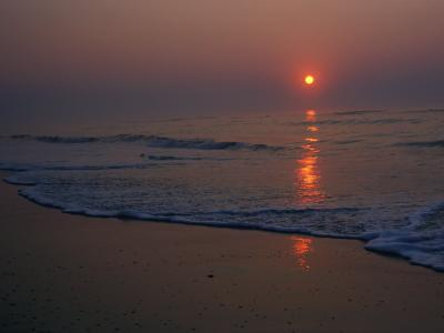 A View of the Assateague Island Surf at Sunrise-Medford Taylor-Photographic Print