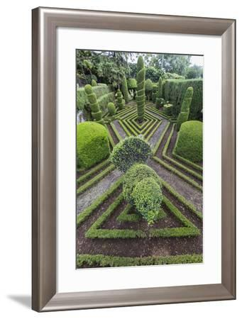 A View of the Botanical Gardens-Michael Nolan-Framed Photographic Print