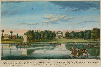 A View of the Countess of Suffolk's House Near Twickenham--Giclee Print