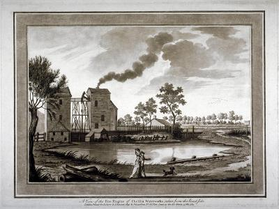 A View of the Fire Engine of Chelsea Waterworks Taken from the Roadside, 1783--Giclee Print