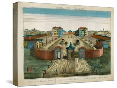 A View of the Foundling Hospital--Stretched Canvas Print