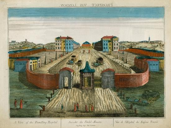 A View of the Foundling Hospital--Giclee Print