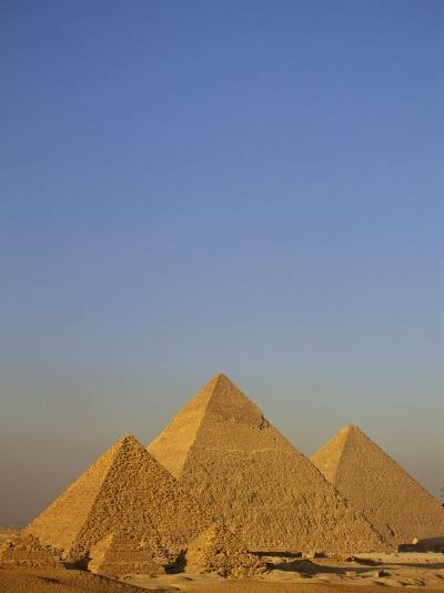 A View of the Great Pyramids of Giza-Kenneth Garrett-Photographic Print