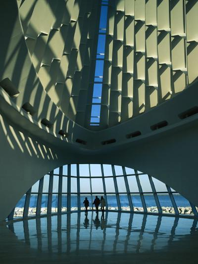 A View of the Inside of the Milwaukee Art Museum-Medford Taylor-Photographic Print