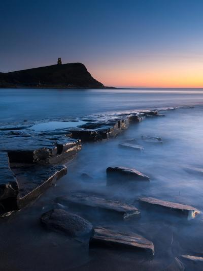 A View of the Ledge at Kimmeridge-Chris Button-Photographic Print