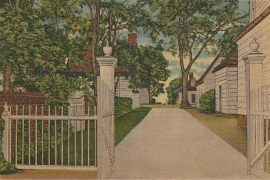 'A View of the North Lane', 1946-Unknown-Giclee Print