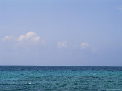 A View of the Ocean on a Sunny Summer Day at the Beach-Taylor S^ Kennedy-Photographic Print