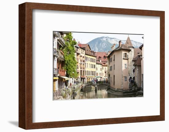 A View of the Old Town of Annecy, Haute-Savoie, France, Europe-Graham Lawrence-Framed Photographic Print
