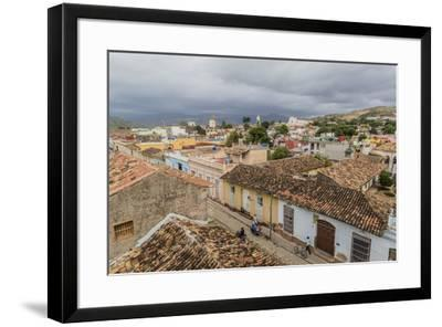 A view of the Plaza Mayor, Trinidad, UNESCO World Heritage Site, Cuba, West Indies, Caribbean, Cent-Michael Nolan-Framed Photographic Print