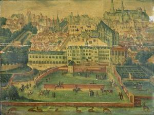 A View of the Royal Palace, Brussels
