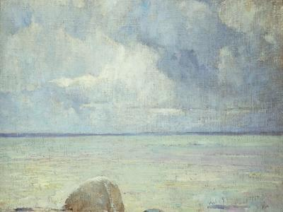 A View of the Sound-Soren Emil Carlsen-Premium Giclee Print