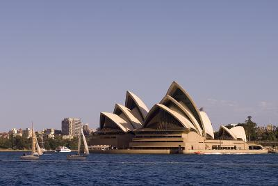 A View of the Sydney Opera House from across the Harbor-Sergio Pitamitz-Photographic Print