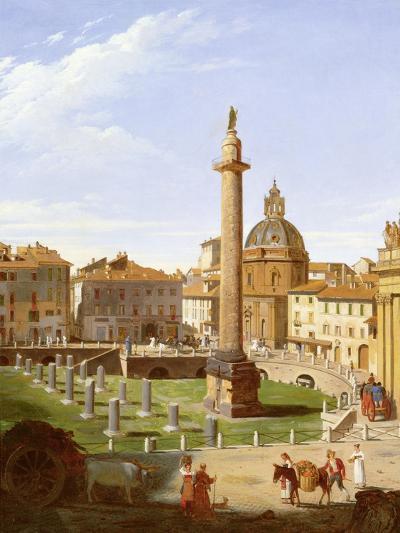 A View of Trajan's Forum, Rome, 1821-Sir Charles Lock Eastlake-Giclee Print