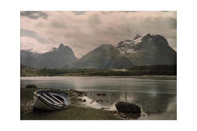A View of Troldtinder Mountain-Gustav Heurlin-Photographic Print