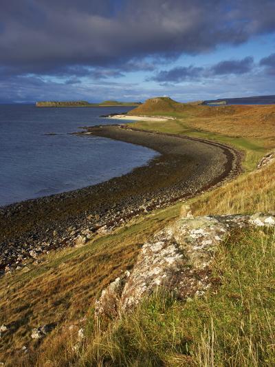 A View Towards the Coral Beaches Near Dunvegan, Isle of Skye, Scotland, United Kingdom, Europe-Jon Gibbs-Photographic Print