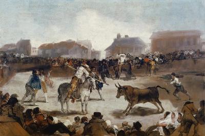 A Village Bullfight, C. 1812-29-Suzanne Valadon-Giclee Print