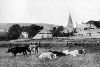 A Village Church, 1926--Giclee Print