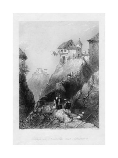 A Village in Roumelia, Near Adrianople-JC Bentley-Giclee Print