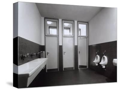 Bathroom in State Run Professional Institute for the Industrialist and Artisan Alfredo Ferrari