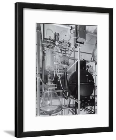 Detail of an Apparatus in the Laboratory of the Recordati Chemical and Pharmaceutical Factory