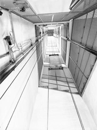 Elevator Shaft of the C.E.A.M. Factory in Calderara Di Reno, Bologna