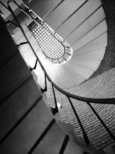 Flight of Stairs at the Marazzi Ceramics Factory by A. Villani