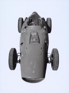 Frontal View of a Ferrari Racing Car by A. Villani