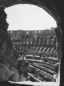 Interior of the Colosseum by A. Villani