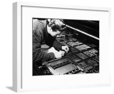 Printer at the Newspaper Printing Facility of the Daily Il Resto Del Carlino of Bologna