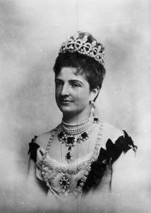 Queen Margherita of Savoy by A. Villani