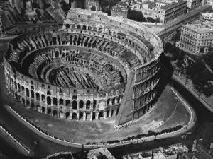 The Colosseum in Rome by A. Villani