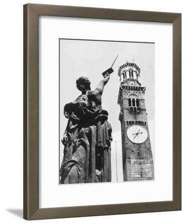 The Lamberti Tower in Verona