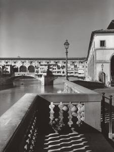 The Ponte Vecchio in Florence by A^ Villani