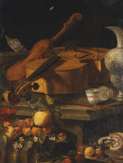 A Violin, a Cello, a Bow, a Sheet-Christoforo Munari-Giclee Print