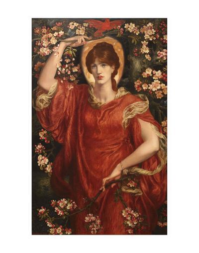 A Vision of Fiammetta, 1878-Dante Gabriel Rossetti-Art Print
