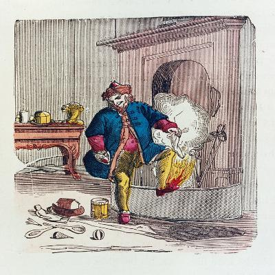 A Visit from St. Nicholas, 1840s-T.C. Boyd-Giclee Print