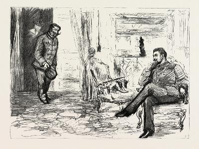 A Visit to Admiral Gervais on Board His Ship--Giclee Print