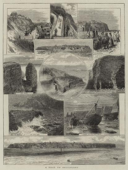 A Visit to Heligoland--Giclee Print
