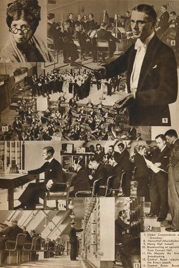 'A Visit to the BBC 7-13', 1937-Unknown-Photographic Print