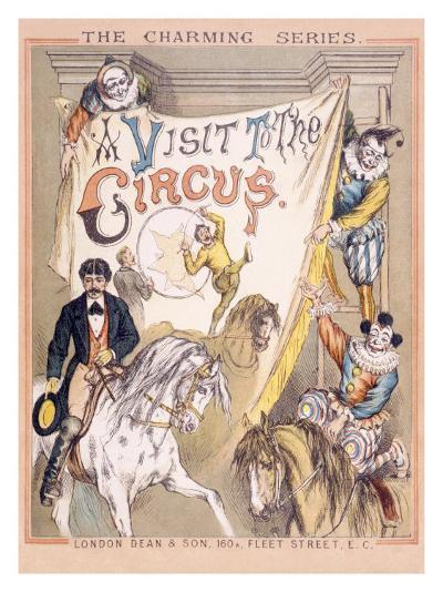 A Visit to the Circus--Giclee Print